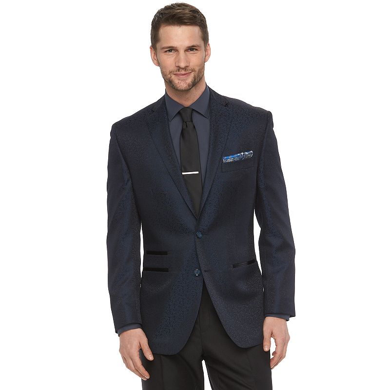 Men's Van Heusen Modern-Fit Navy Suit Jacket