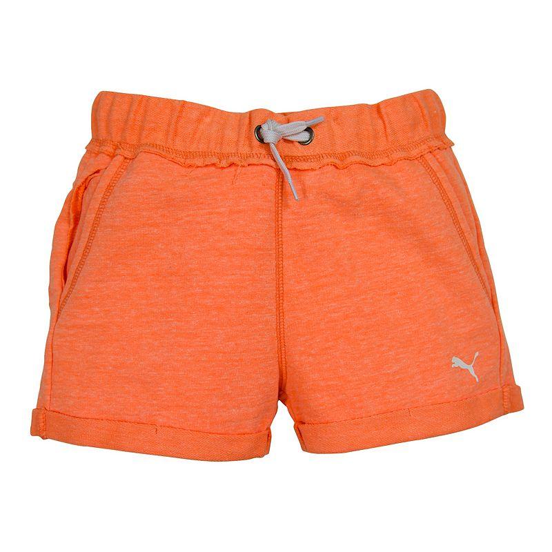 Girls 7-16 PUMA Cuffed Athletic Shorts