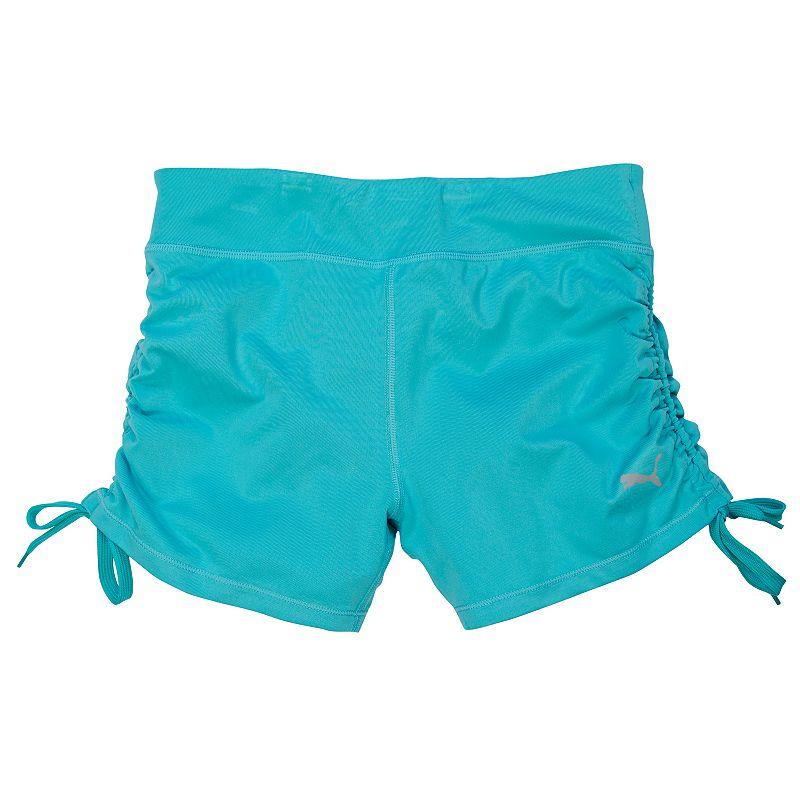 Girls 7-16 PUMA Ruched Biker Shorts