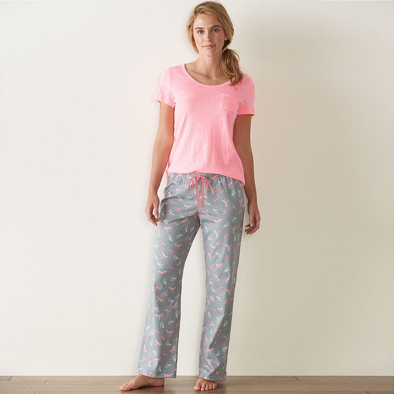 Women's SONOMA Goods for Life™ Pajamas: Knit Pajama Set