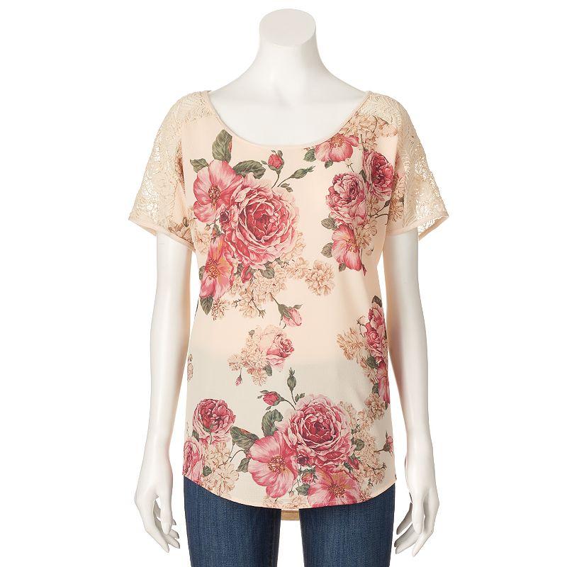 Women's Loramendi Floral Lace Tee