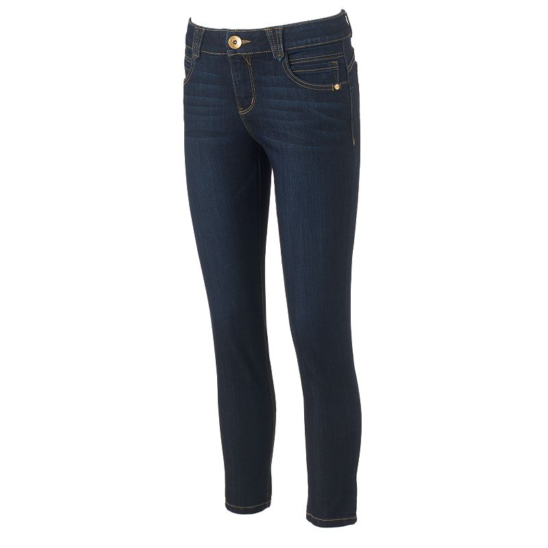 Women's Artisan Crafted by Democracy Slimming Capri Jeans