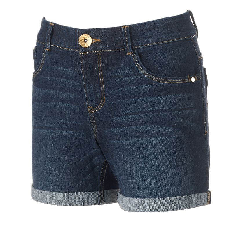 Women's Artisan Crafted by Democracy Cuffed Jean Shorts