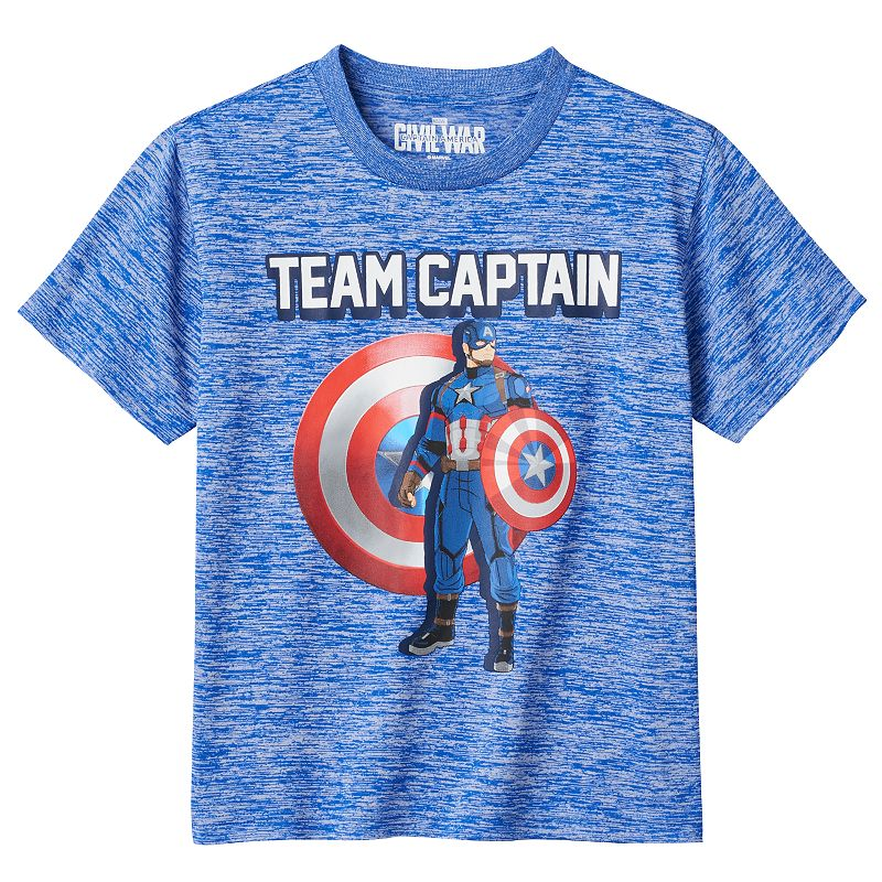 Boys 4-7 Marvel Captain America: Civil War
