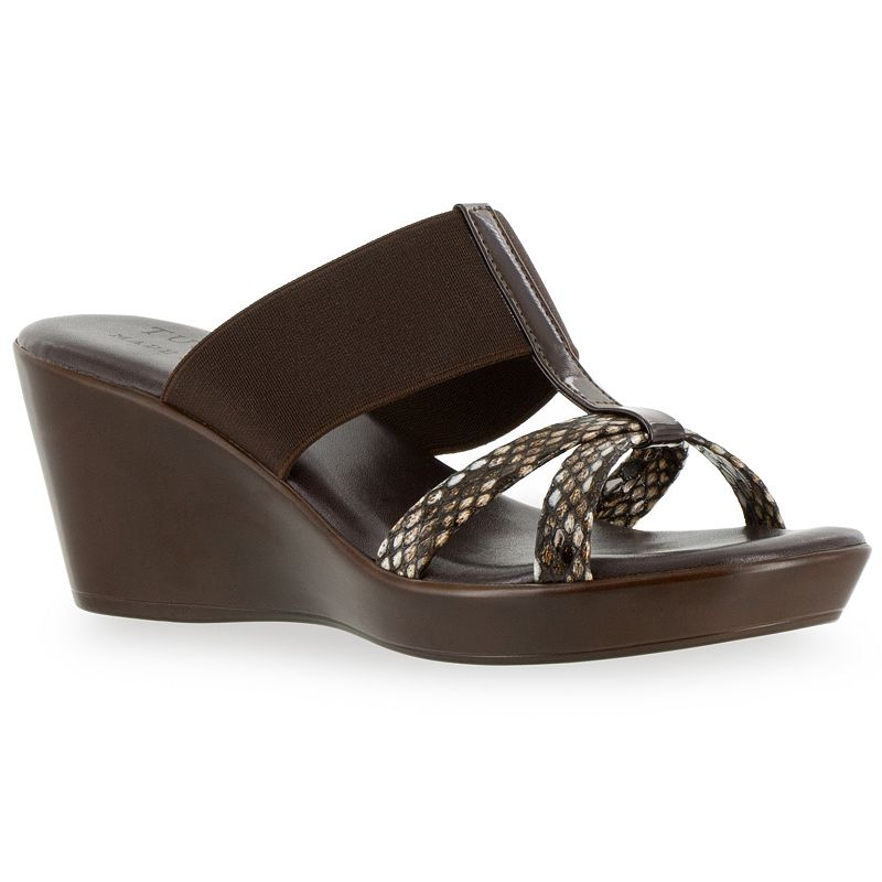Tuscany by Easy Street Ascea Women's Wedge Sandals