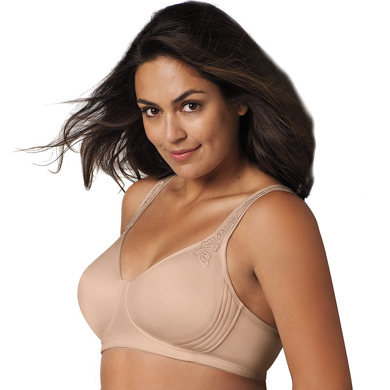 Playtex Bra: 18 Hour Breathably Cool Full-Figure Wire-Free Bra 4E78