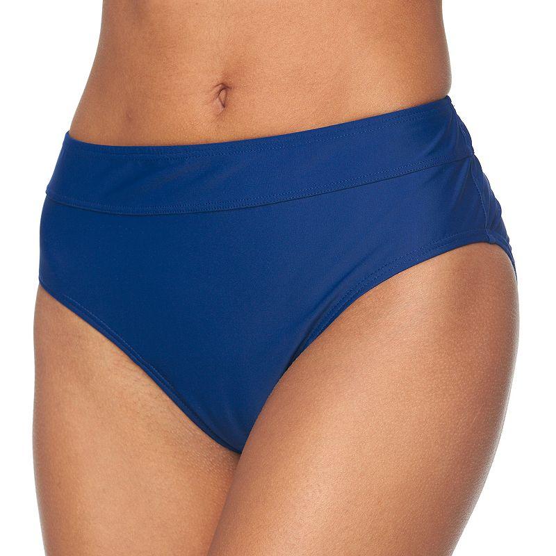 Women's Croft & Barrow® Semi High-Waisted Scoop Bottoms