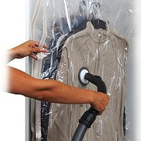 Compactor 2-pack Hanging Vacuum Storage Bags with Hooks