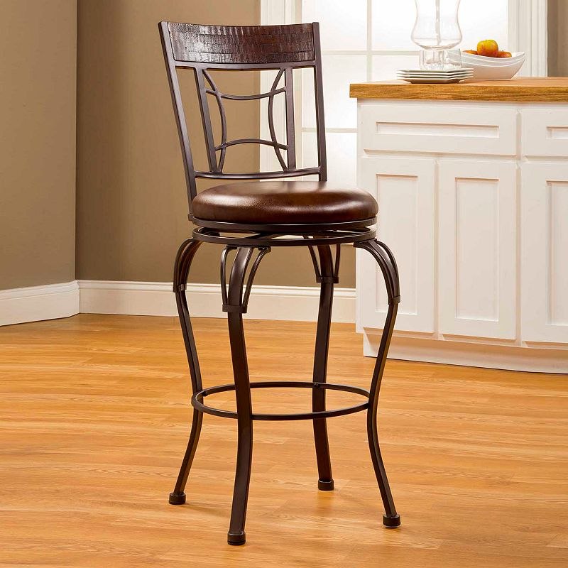 Portland Swivel Bar Stool Dealtrend