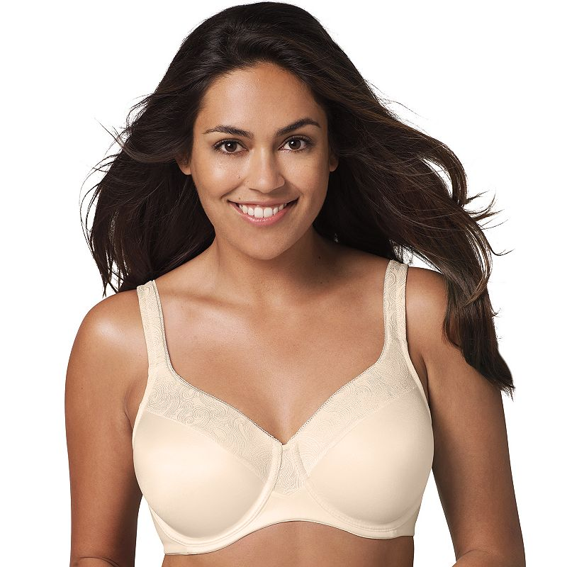Playtex Secrets Bra: Undercover Slimming Shaping Full-Figure Bra 4S83