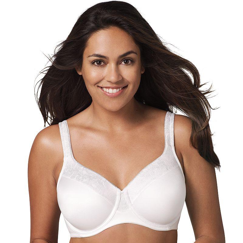 Playtex Secrets Bra: Undercover Slimming Shaping Full-Figure Bra 4S83