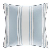Harbor House Crystal Beach Pieced Square Throw Pillow