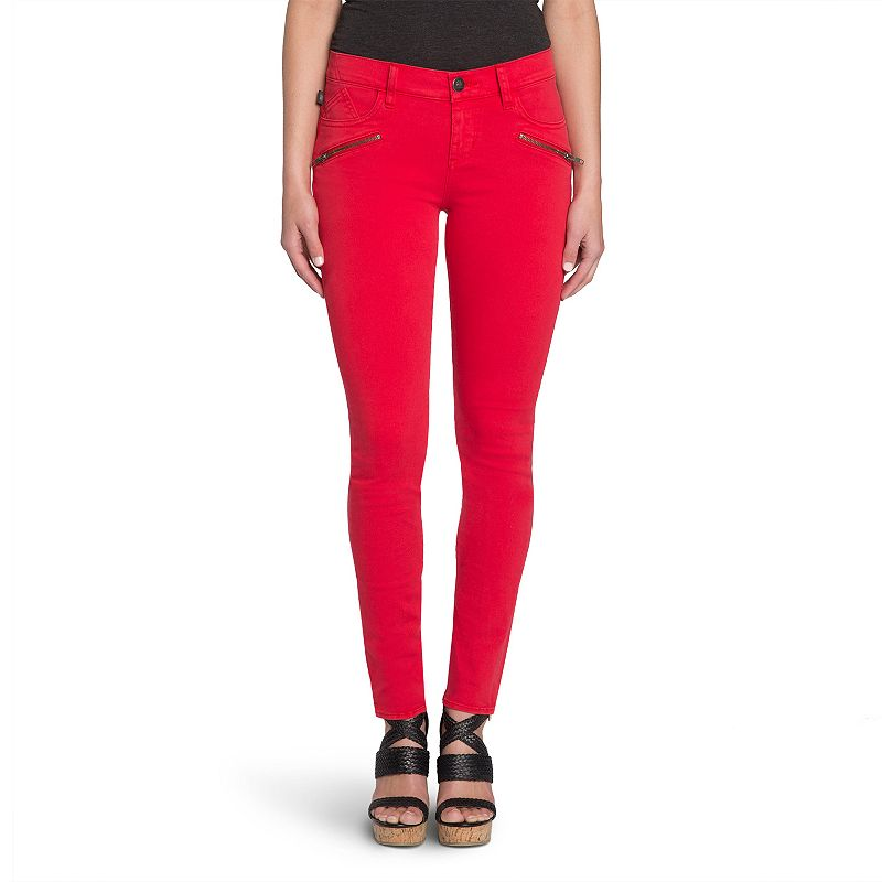 Women's Rock & Republic® Kashmiere Red Jean Leggings