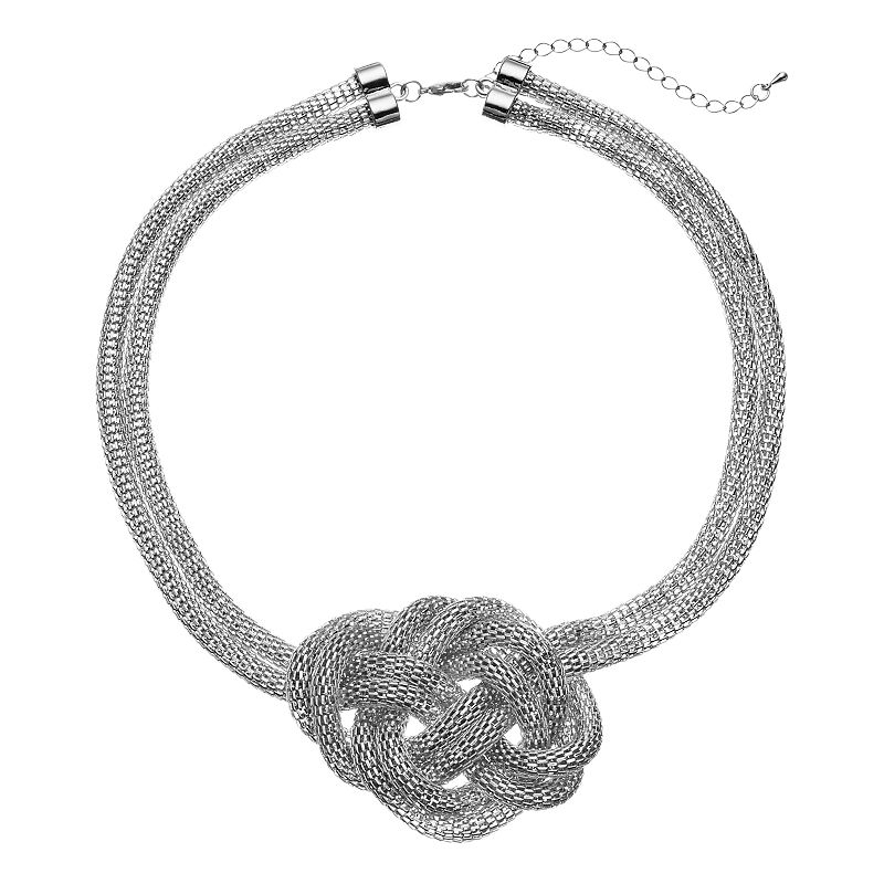Apt. 9® Mesh Knot Necklace