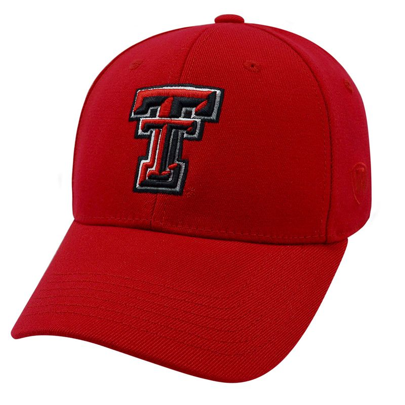 Adult Top of the World Texas Tech Red Raiders Premium Collection One-Fit Cap