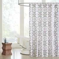 Madison Park Pure Nicola Shower Curtain