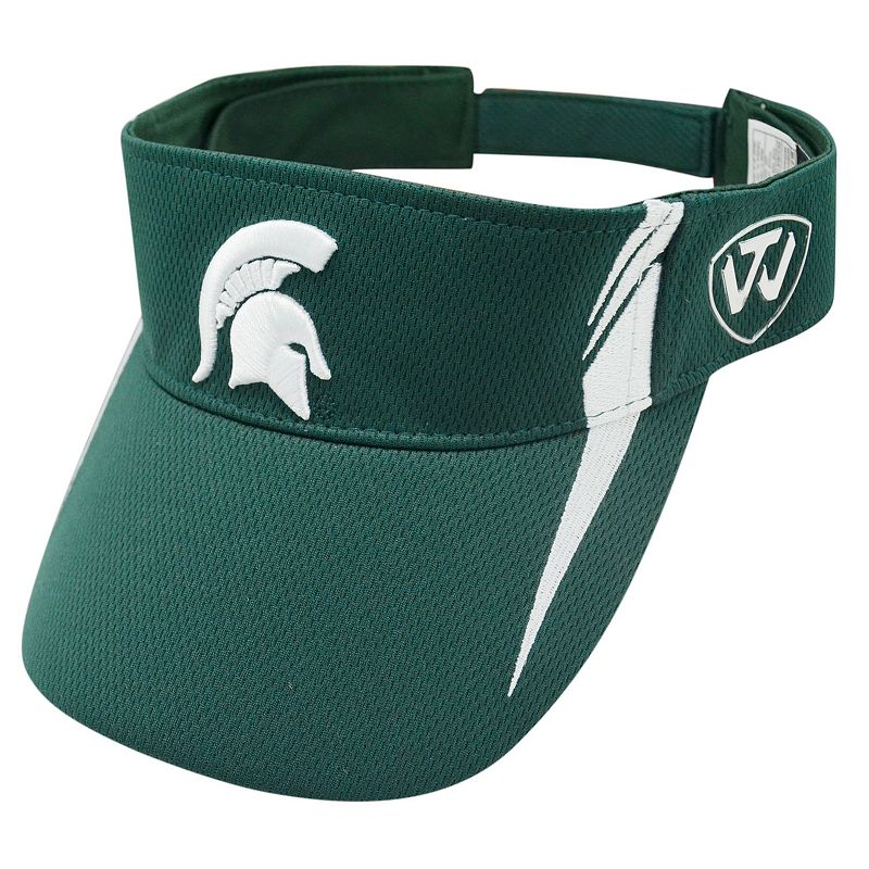 Adult Top of the World Michigan State Spartans Range Visor