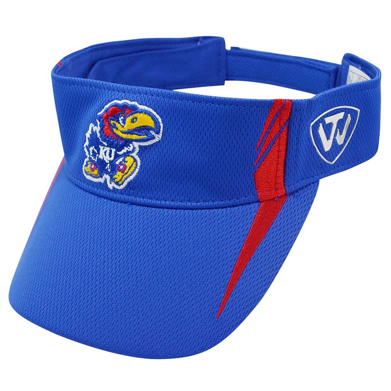 Adult Top of the World Kansas Jayhawks Range Visor