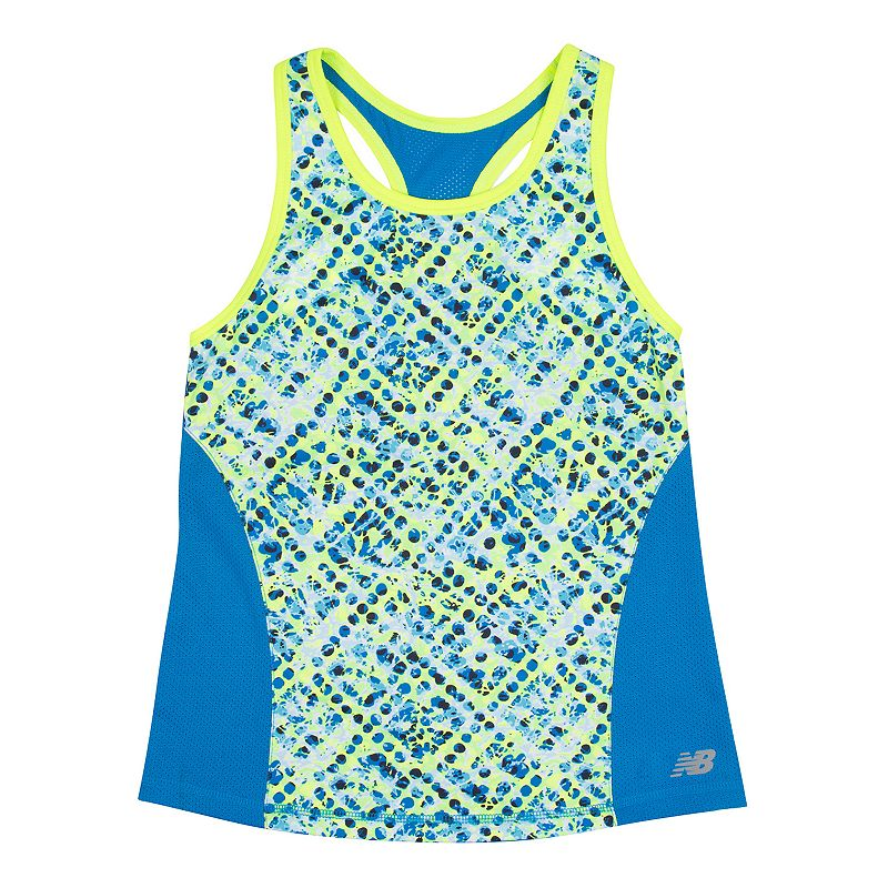 Girls 7-16 New Balance Graphic Performance Tank Top