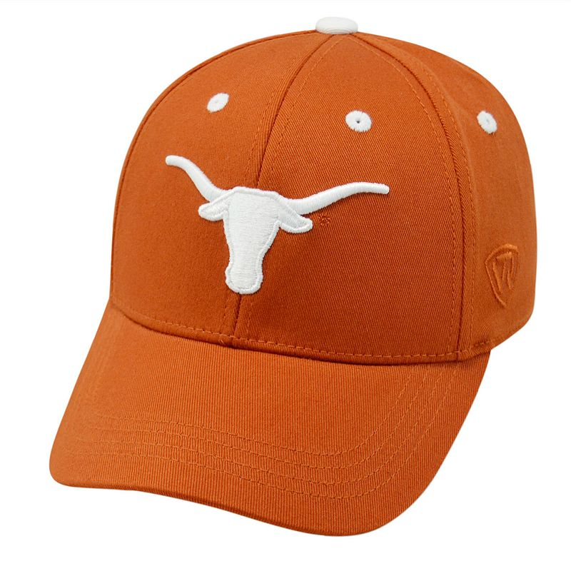Youth Top of the World Texas Longhorns Rookie Cap
