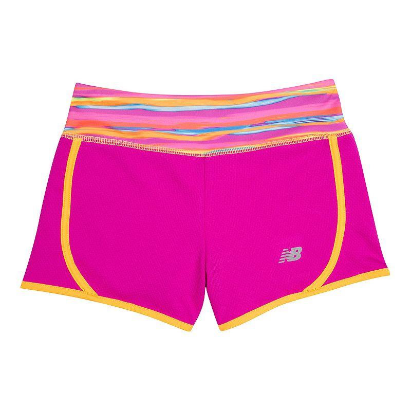 Girls 7-16 New Balance Knit Running Shorts