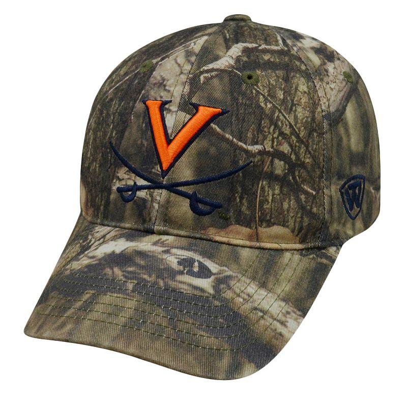 Adult Top of the World Virginia Cavaliers Resistance Mossy Oak Camouflage Adjustable Cap