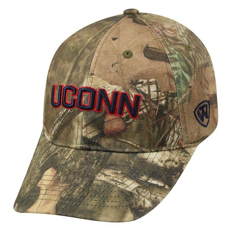 Adult Top of the World UConn Huskies Resistance Mossy Oak Camouflage Adjustable Cap