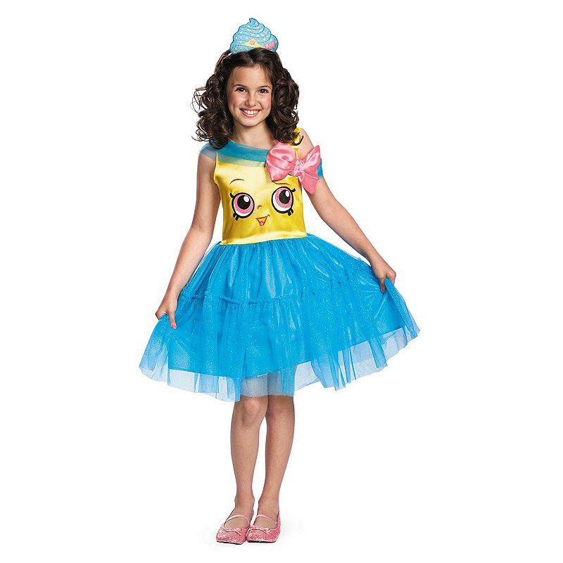 Girls Shopkins Cupcake Queen Costume