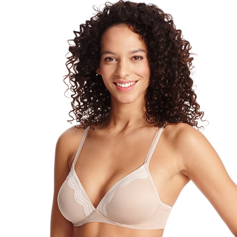 Warner's Bra: Elements of Bliss Lace-Trim Full-Coverage Wire-Free Bra RO1981A