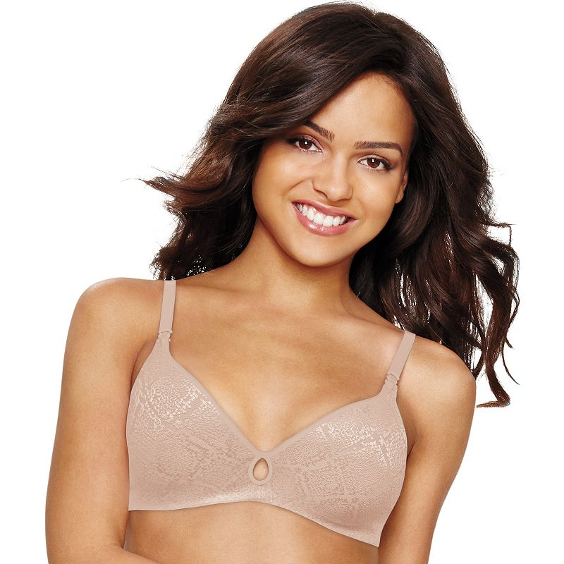Hanes Ultimate Bra: Invisible Look Wire-Free Convertible T-Shirt Bra HU07