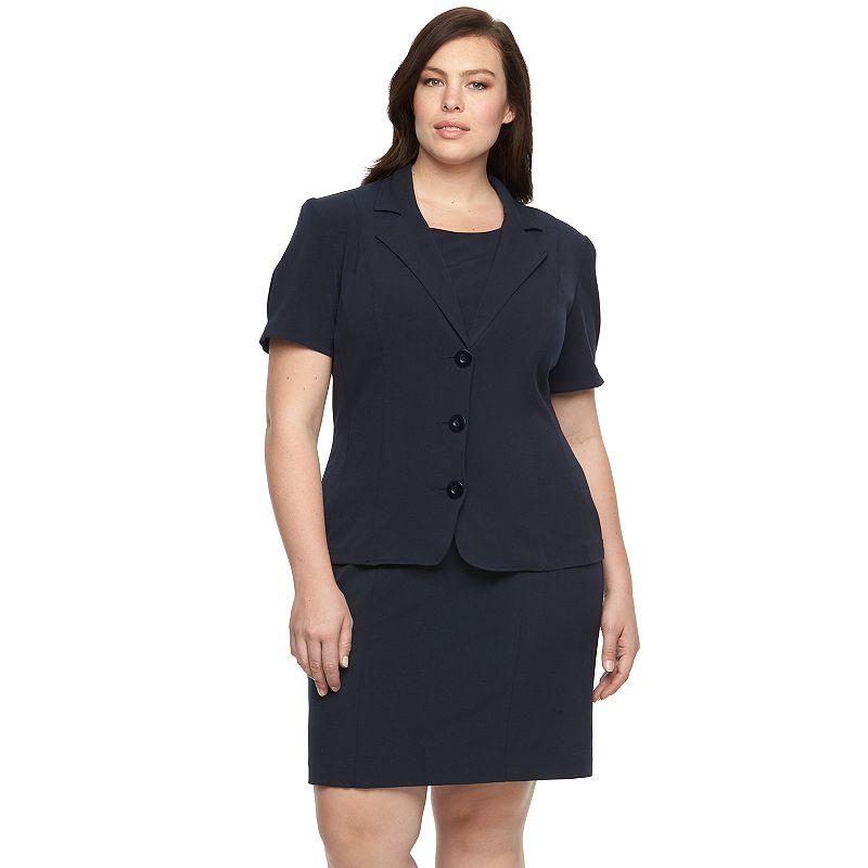 Plus Size Briggs Bi-Stretch Jacket