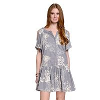 Women's Indication by ECI Floral Shift Dress