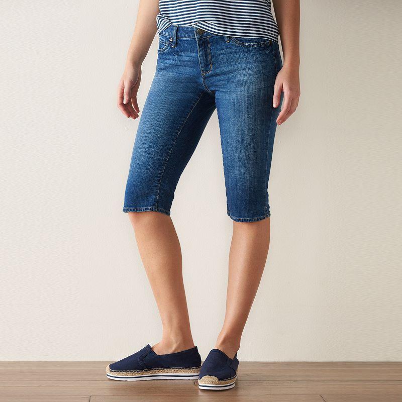 Women's SONOMA Goods for Life™ Skimmer Jean Shorts
