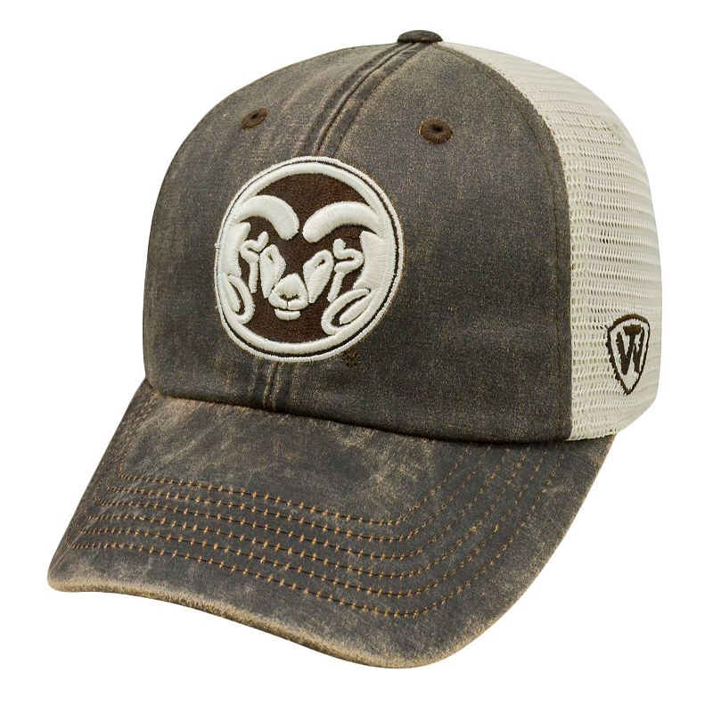 Adult Top of the World Colorado State Rams Scat Mesh Cap