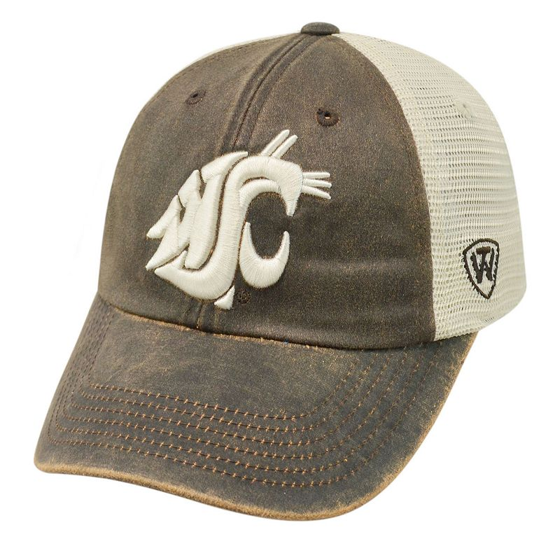 Adult Top of the World Washington State Cougars Scat Mesh Cap