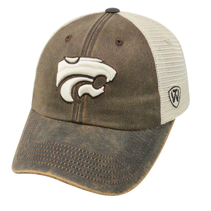Adult Top of the World Kansas State Wildcats Scat Mesh Cap
