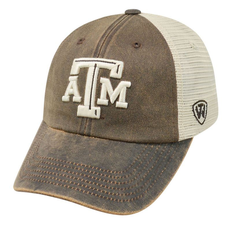 Adult Top of the World Texas A&M Aggies Scat Mesh Cap