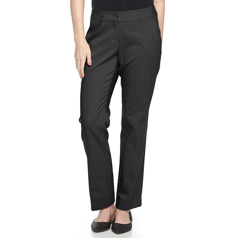 Petite Apt. 9® Lucca Curvy Fit Dress Pants