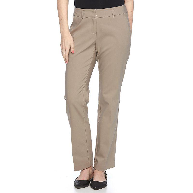 Petite Apt. 9® Torie Curvy Fit Dress Pants