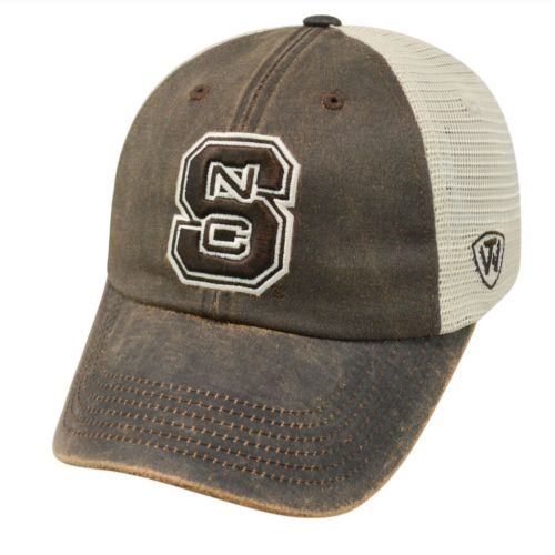 Adult Top of the World North Carolina State Wolfpack Scat Mesh Cap