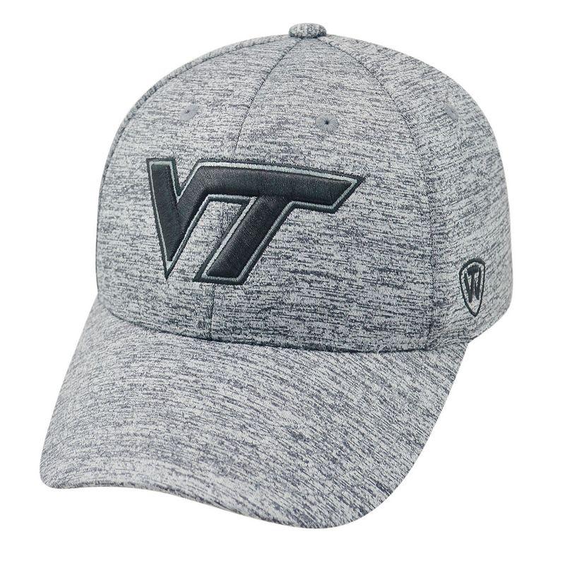 Adult Top of the World Virginia Tech Hokies Steam Cap