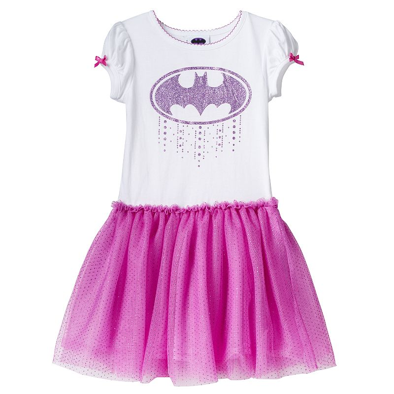 Girls 4-6x DC Comics Batgirl Glitter Tutu Dress