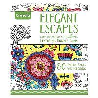 Crayola Elegant Escapes Adult Coloring Book