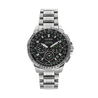 Citizen Eco-Drive Men's Promaster Navihawk GPS Stainless Steel Flight Watch - CC9030-51E