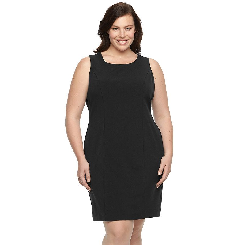 Plus Size Briggs Scoopneck Sheath Dress