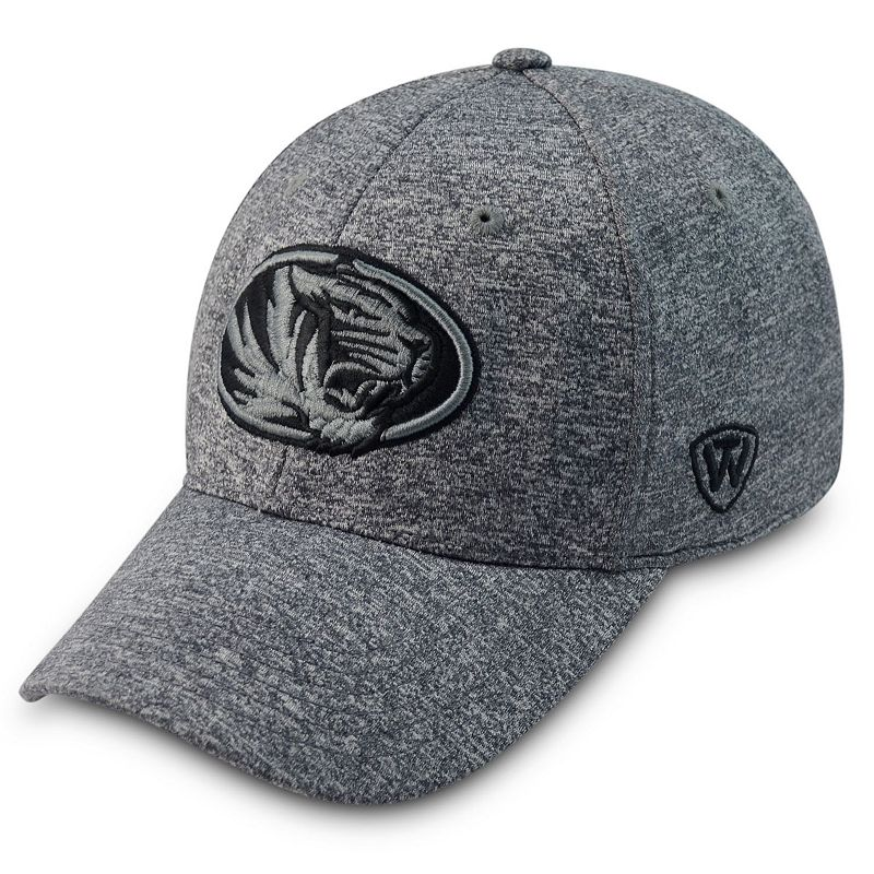 Adult Top of the World Missouri Tigers Steam Cap