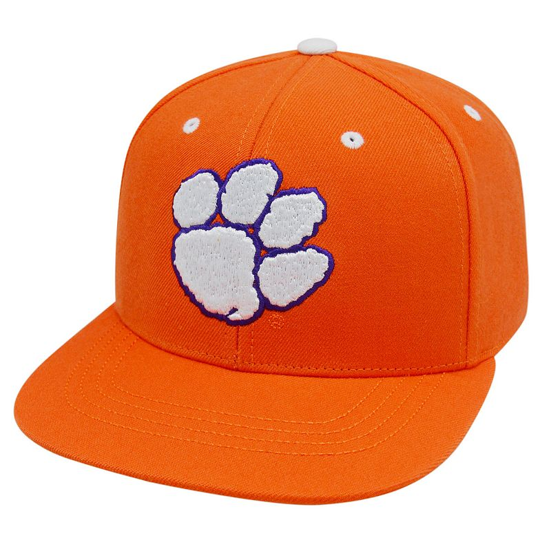 Adult Top of the World Clemson Tigers Flat-Bill Cap