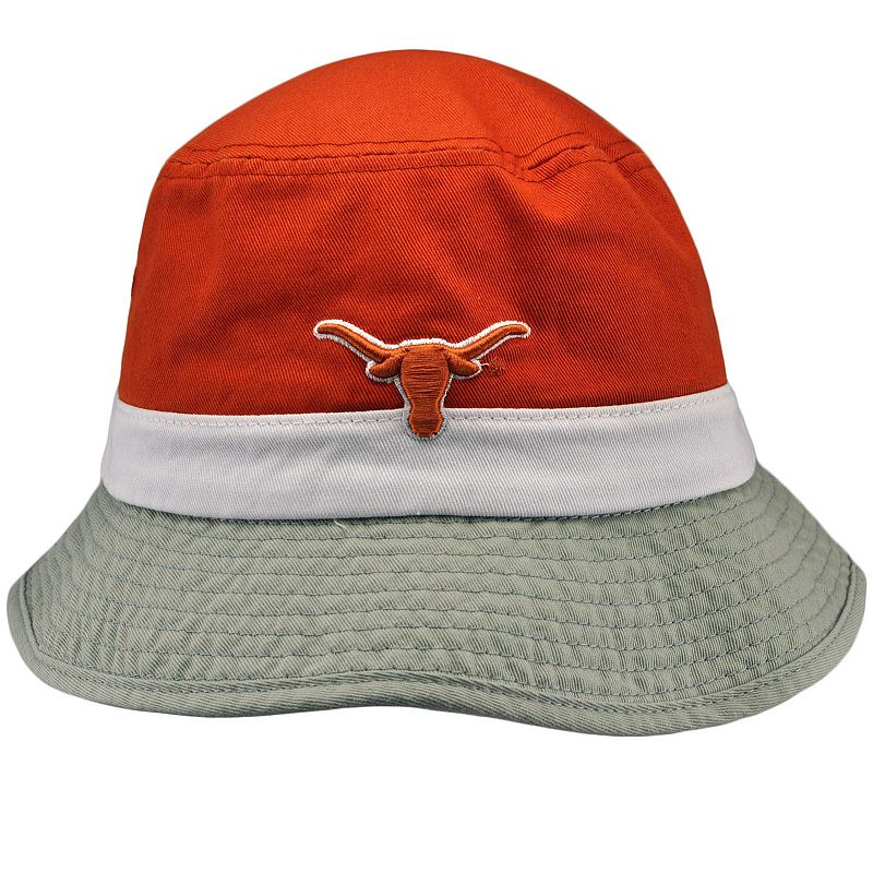 Adult Top of the World Texas Longhorns Trifecta Bucket Hat