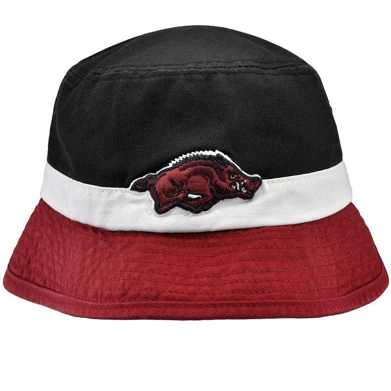 Adult Top of the World Arkansas Razorbacks Trifecta Bucket Hat