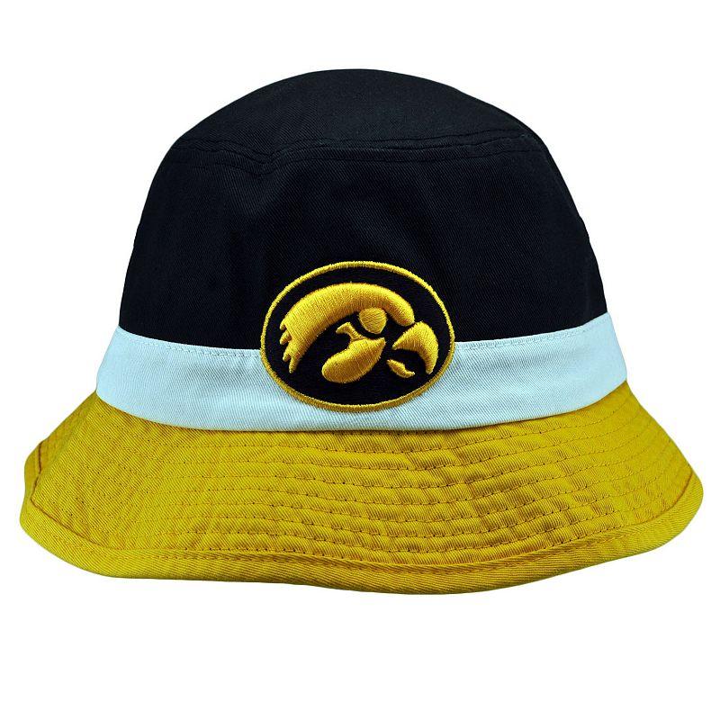 Adult Top of the World Iowa Hawkeyes Trifecta Bucket Hat